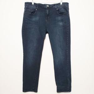 Kut from the Kloth High Rise Dark Wash Skinny Jean